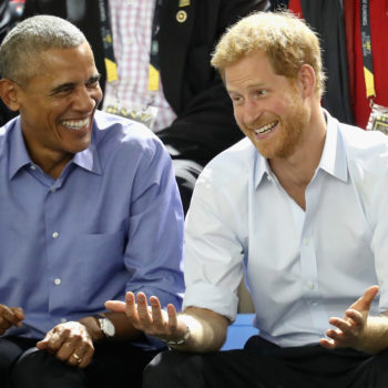 "Prince Harry asked Barack Obama if he prefers ""Suits"" or ""The Good Wife"""