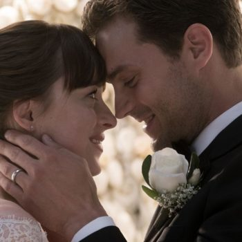 """A new """"Fifty Shades Freed"""" teaser is here, and we have an even better look at Ana's wedding dress"""
