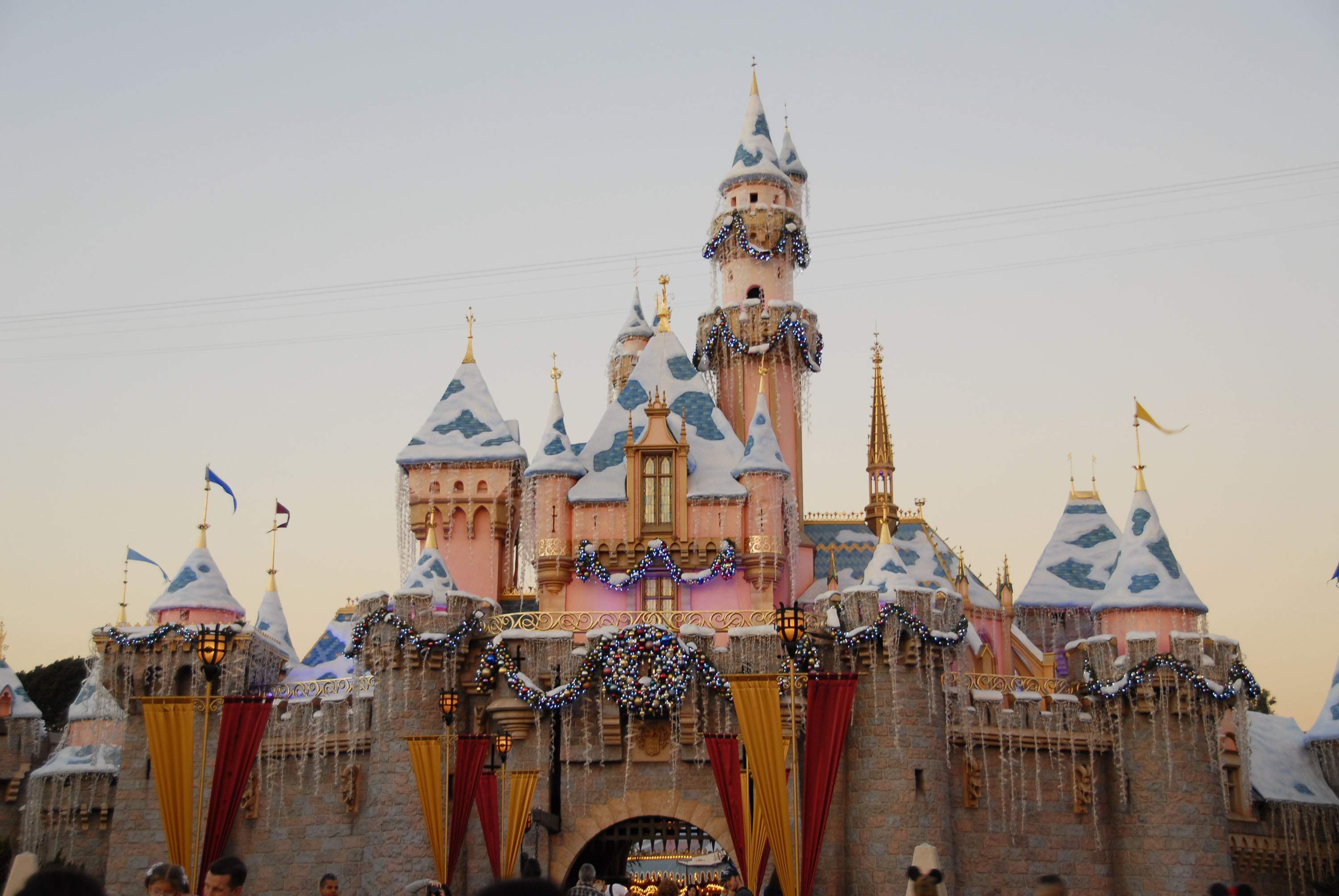 Disneyland photos showing a power outage that shut down rides - HelloGiggles