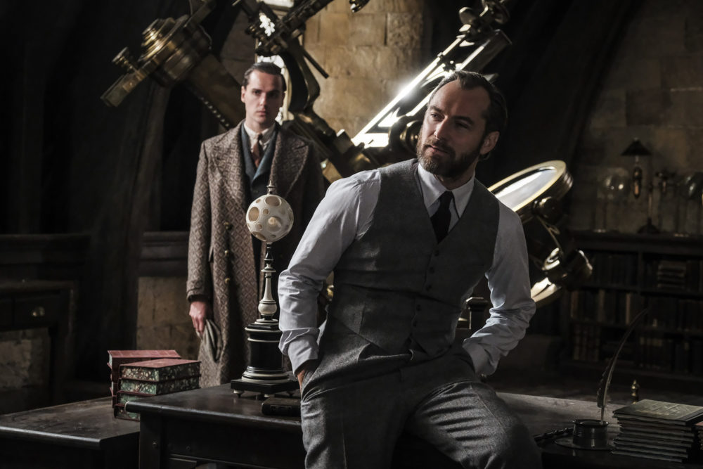 To prepare for the role of Dumbledore, Jude Law simply hung out with J.K. Rowling one day