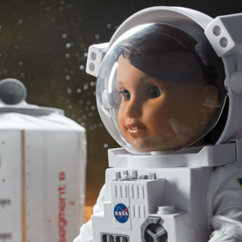 American Girl's 2018 Girl of the Year wants to be an astronaut when she grows up, and same