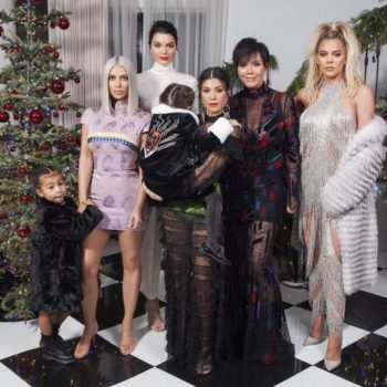 Kylie Jenner was missing from ANOTHER family Christmas photo, so Kourtney Kardashian said what we're all thinking