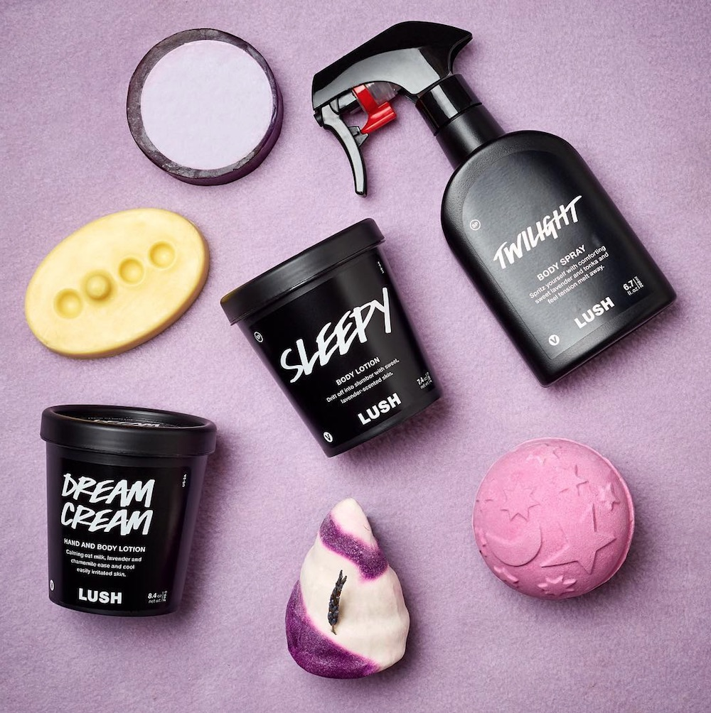 Lush released an ASMR nighttime routine, so get ready to have the most satisfying sleep of 2018