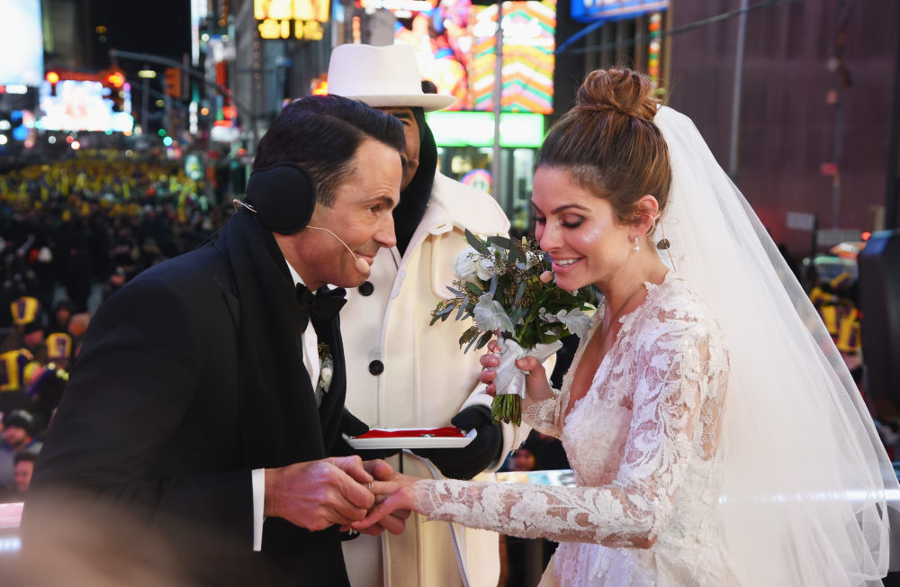 Maria Menounos got married live on TV — and also in 10 degree weather