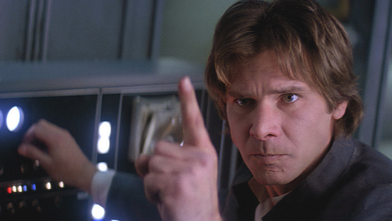 """The Young Han Solo movie just released a new picture, and it looks like """"Back to the Future"""""""