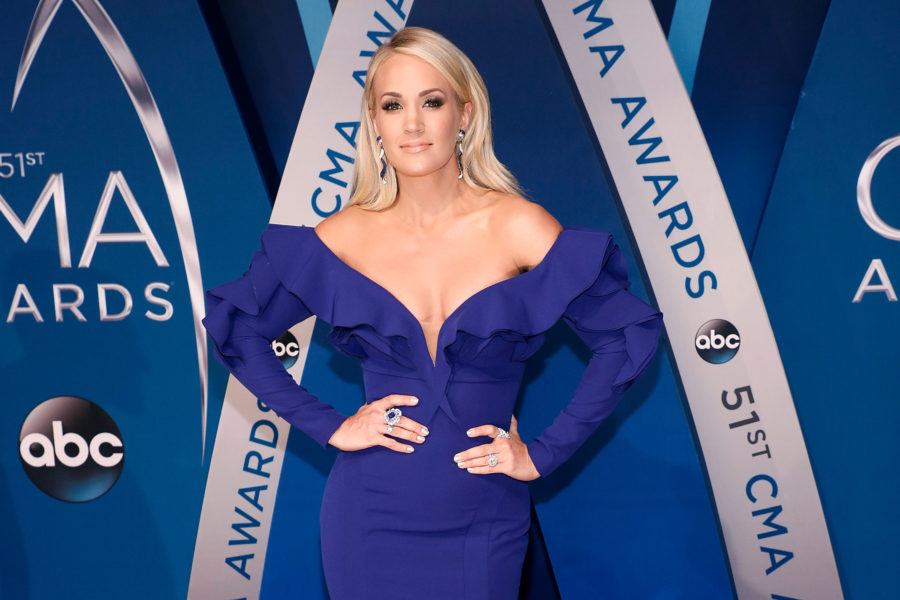 Carrie Underwood revealed she got 40 stitches on her face after her fall in November