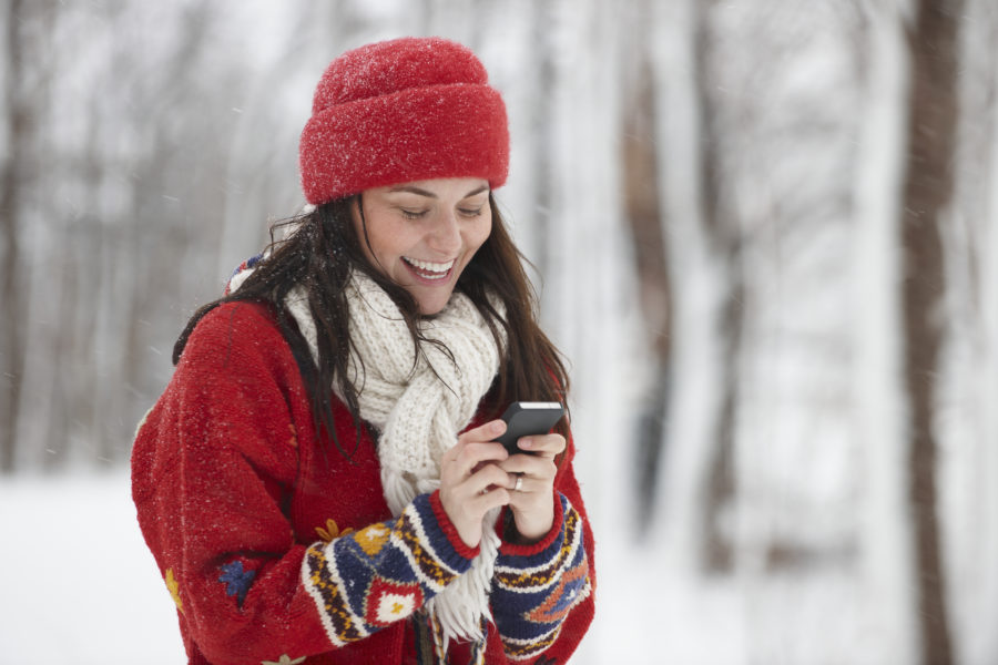 So, cold weather can apparently mess up your phone—here's how to protect it