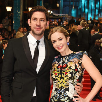 John Krasinski burst into tears the first time he heard Emily Blunt sing
