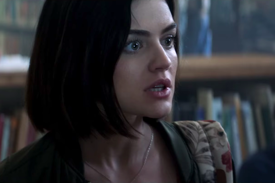 "Watch Lucy Hale fight for her life in the terrifying trailer for ""Truth or Dare"""
