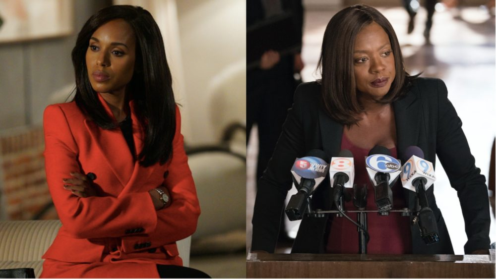 """Scandal"" and ""HTGAWM"" are planning a crossover, because it's about time Kerry Washington and Viola Davis shared the screen"