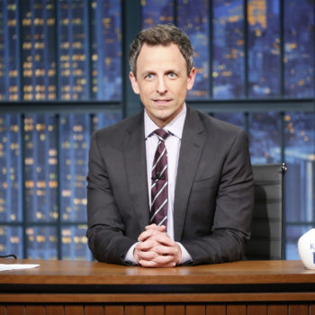 Seth Meyers is going after Hollywood more than the White House at this year's Golden Globes