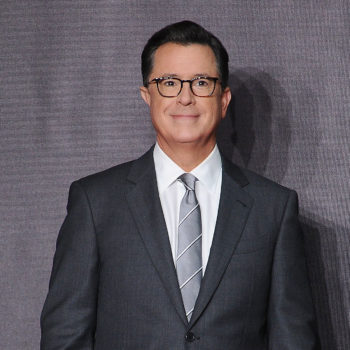 """Stephen Colbert took out a """"For your consideration"""" ad so he can win Trump's ridiculous fake news award"""