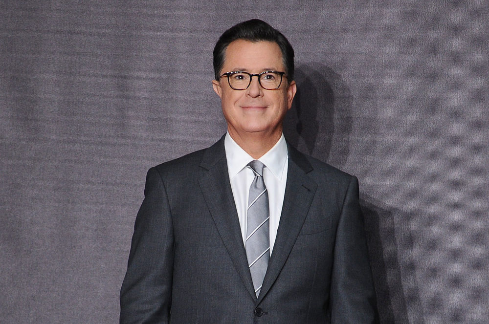 "Stephen Colbert took out a ""For your consideration"" ad so he can win Trump's ridiculous fake news award"