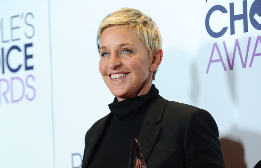 Ellen expertly shut down Eric Trump's bizarre conspiracy theory about her