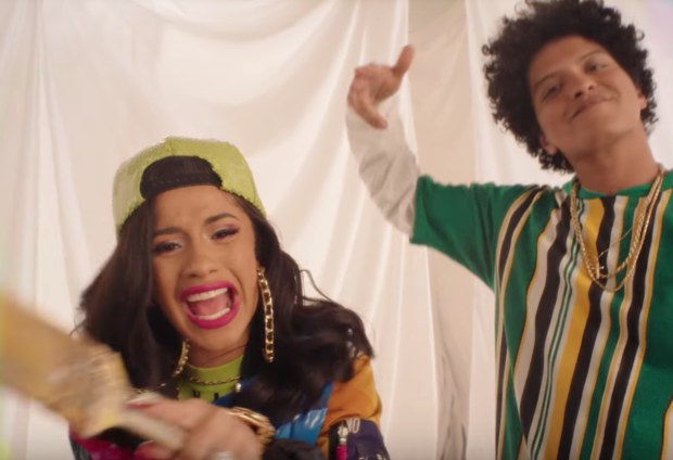 Cardi B and Bruno Mars' new music video is inspired by this iconic '90s show, and we're dancing in our platform shoes
