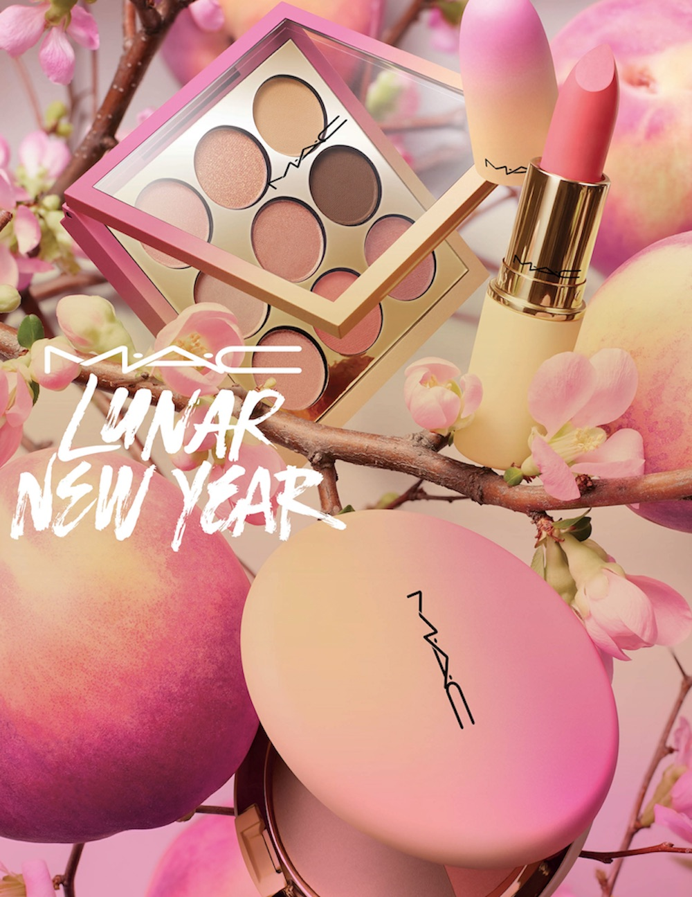 MAC's Lunar New Year makeup collection is peach perfect