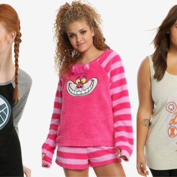 Her Universe just dropped a brand new sleepwear line, fit for all princesses and Rebels