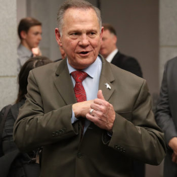 The woman who accused Roy Moore of sexually abusing her at 14 is now suing him