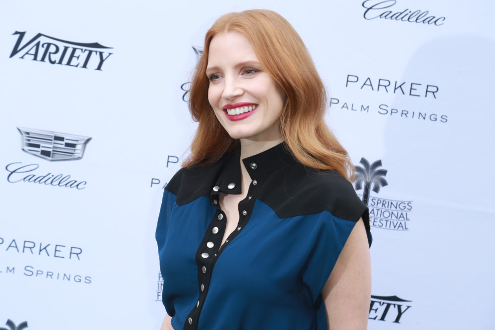 "Jessica Chastain says ""major change is coming"" for women in Hollywood, and let's do this"