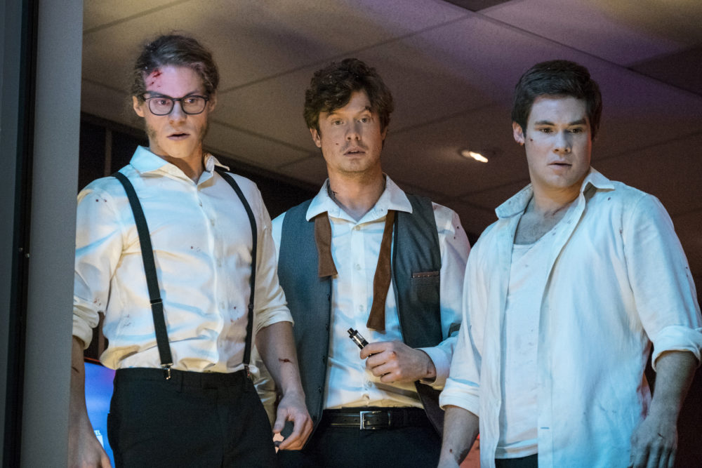 "The trailer for Netflix's ""Die Hard"" spoof is here, and it stars the ""Workaholics"" guys"