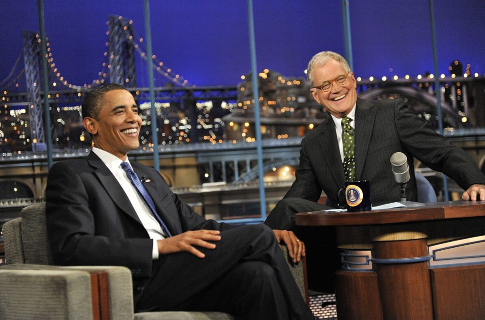 Obama is going to be David Letterman's first Netflix show guest, and he *really* needs no introduction