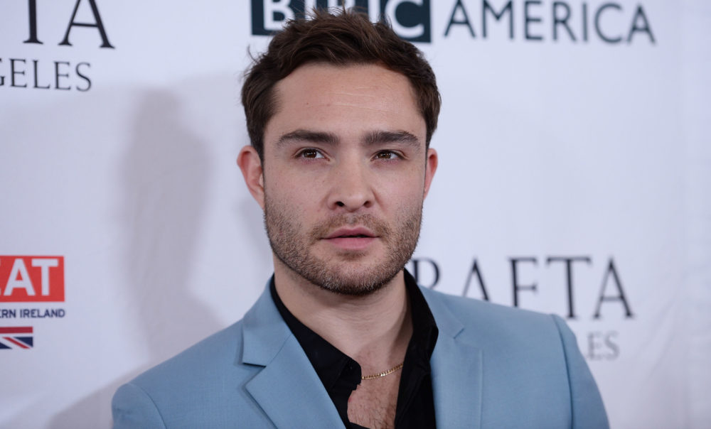 Ed Westwick has been recast in a role he already completed, just like Kevin Spacey