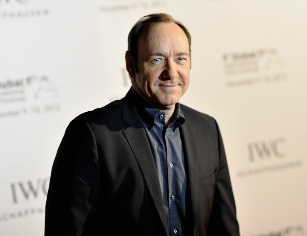 Will Kevin Spacey be at the Golden Globes this year?