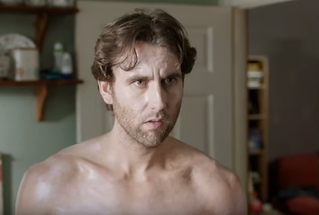 Neville Longbottom is shirtless in the trailer for his new TV show, and the internet can't stop staring