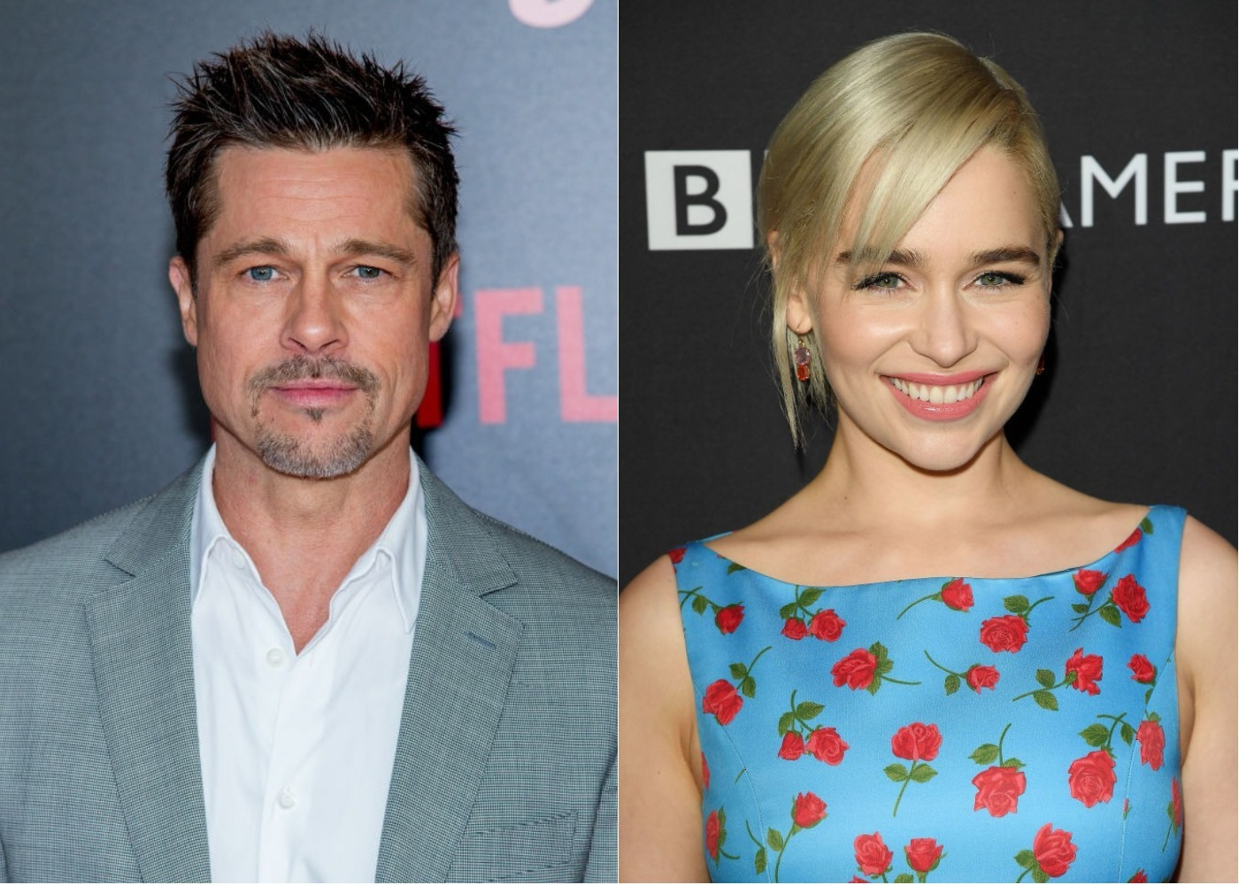 "Brad Pitt bid $120,000 to watch an episode of ""Game of Thrones"" with Emilia Clarke, and he still didn't win"