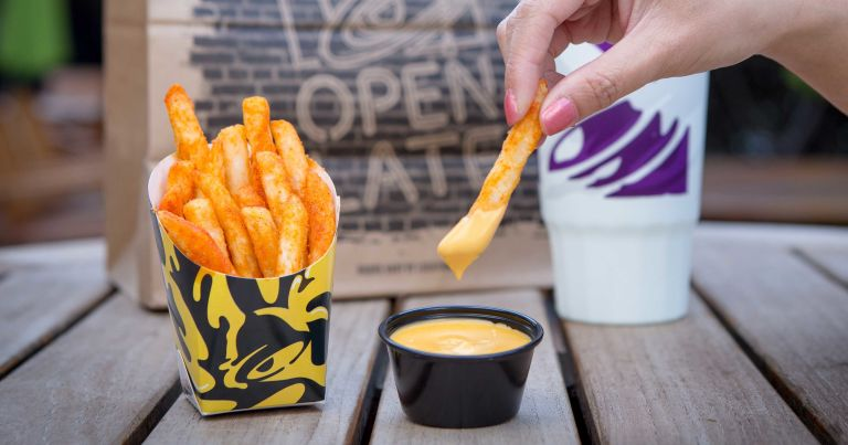 Taco Bell's new Nacho Fries are here, so goodbye to being healthy in 2018
