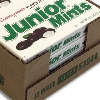 This lawsuit claims there isn't enough candy in a box of Junior Mints, and we get it