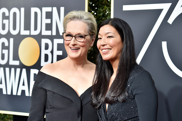 Meryl Streep's Golden Globes date is a woman you need to know