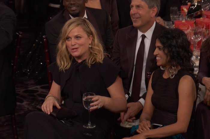 Amy Poehler popping off at Seth Meyers is the best way to start the 2018 Golden Globes