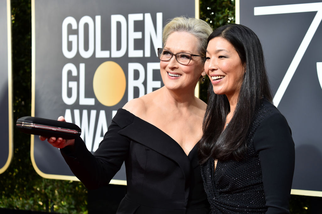 People are complaining that the 2018 Golden Globes are too political, and come on
