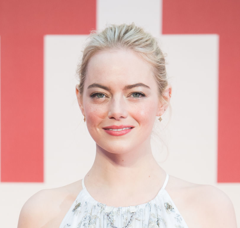 Emma Stone's makeup at the 2018 Golden Globes is a tribute to the women's suffrage movement