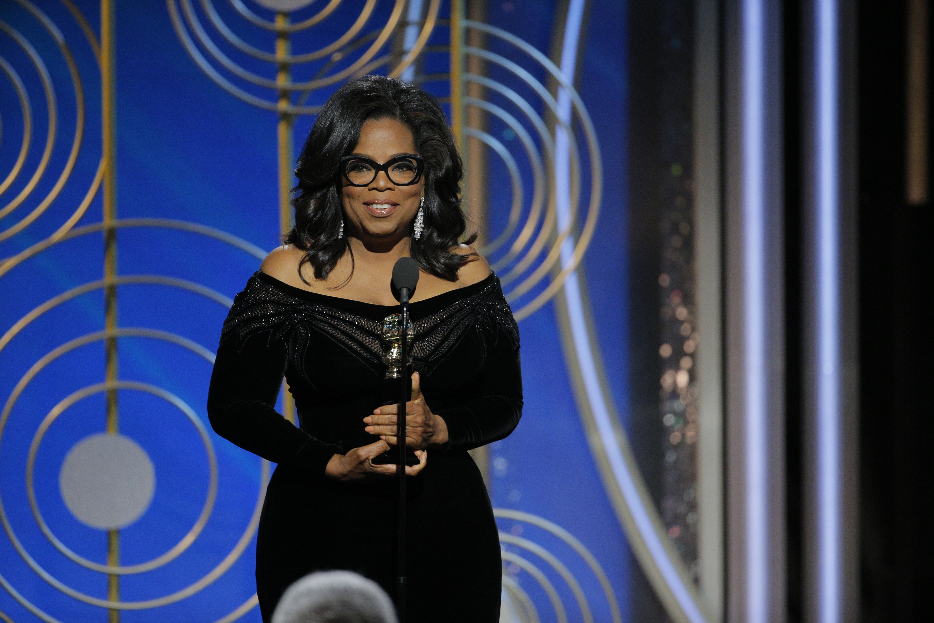 Now you can listen to Oprah Winfrey's 2018 Golden Globes speech on Spotify