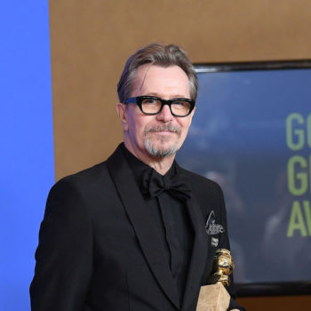 Gary Oldman is being called this year's Casey Affleck at the 2018 Golden Globes