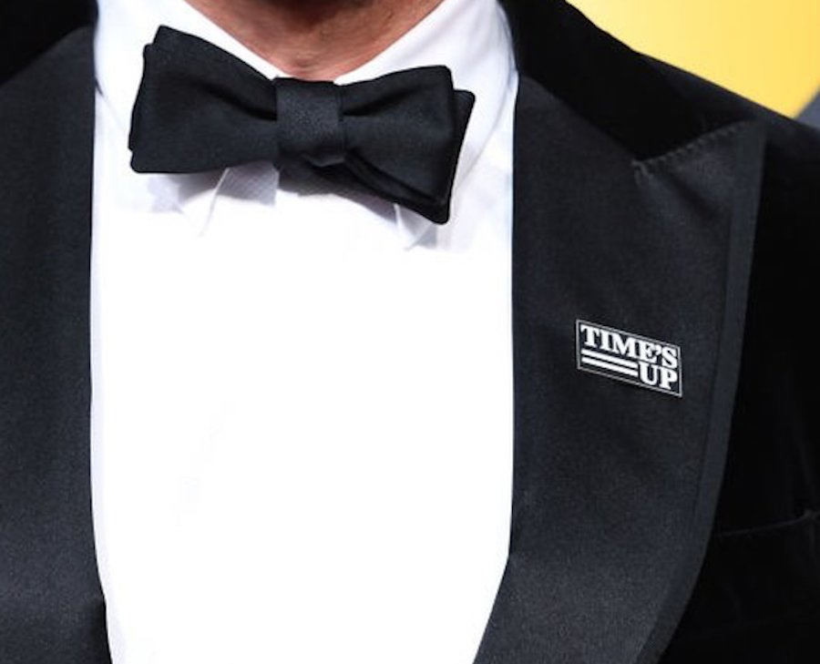 Actors may have worn #TimesUp pins at the Golden Globes, but that doesn't mean they're off the hook