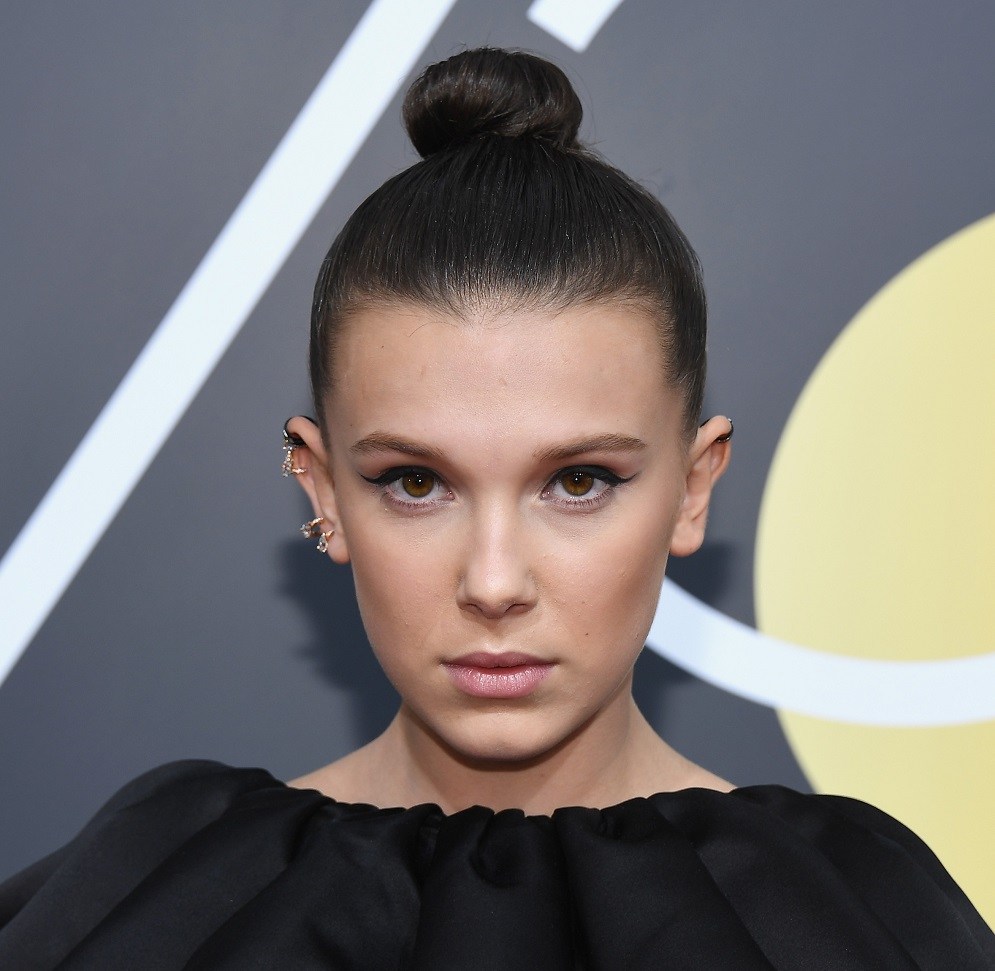 Ariana Grande freaked out over Millie Bobby Brown's Golden Globes look