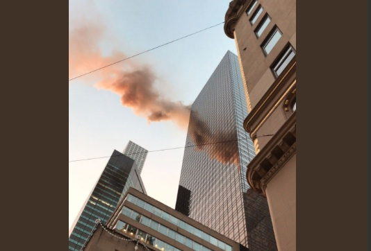 Trump Tower is on fire, and here's what we know