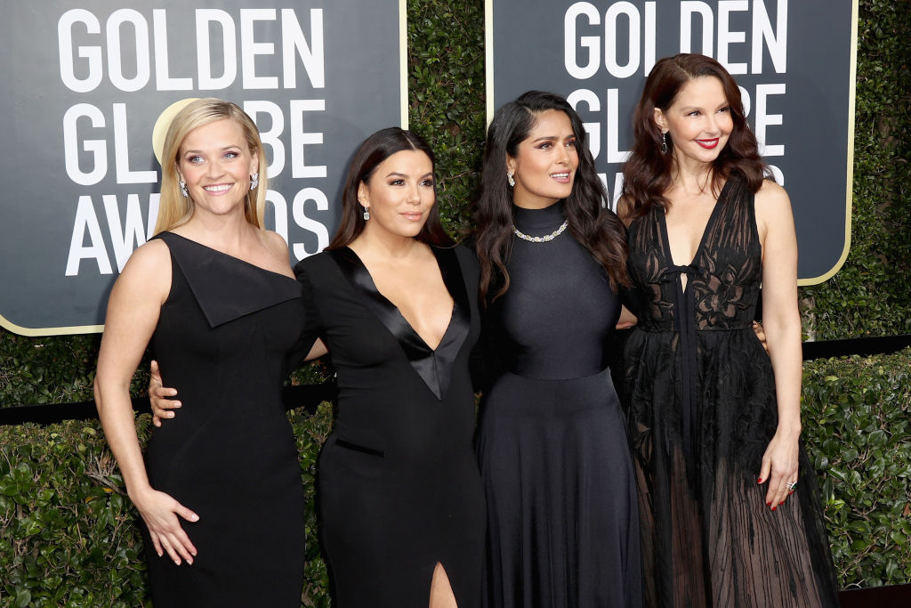 The Golden Globes called out Hollywood for its treatment of women, but not Trump