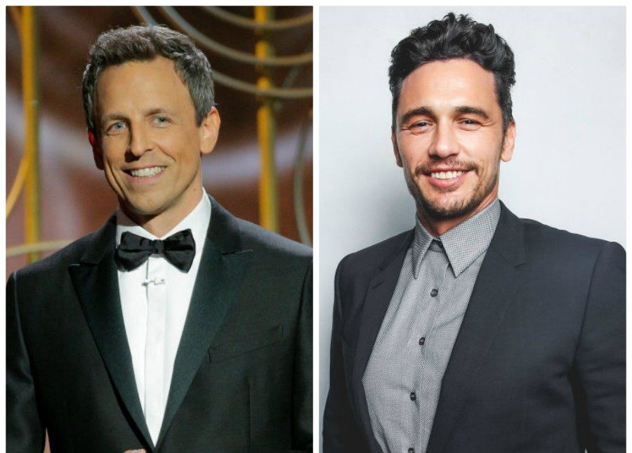"Seth Meyers' Golden Globes joke about ""seedy"" James Franco was spot-on foreshadowing"