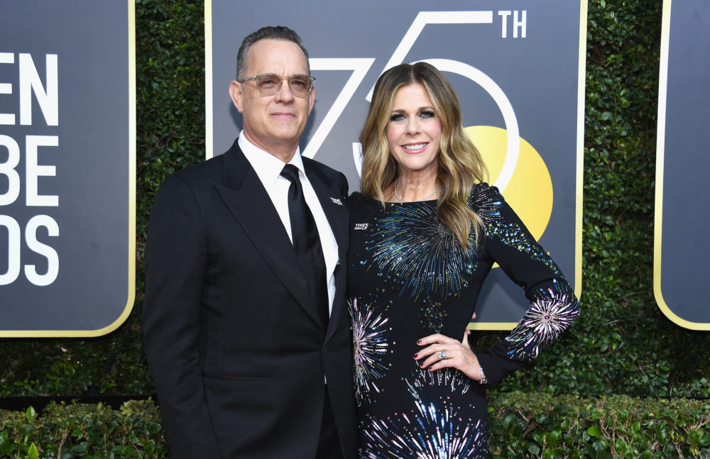 America's dad Tom Hanks brought drinks to his table during the 2018 Golden Globes, because he cares