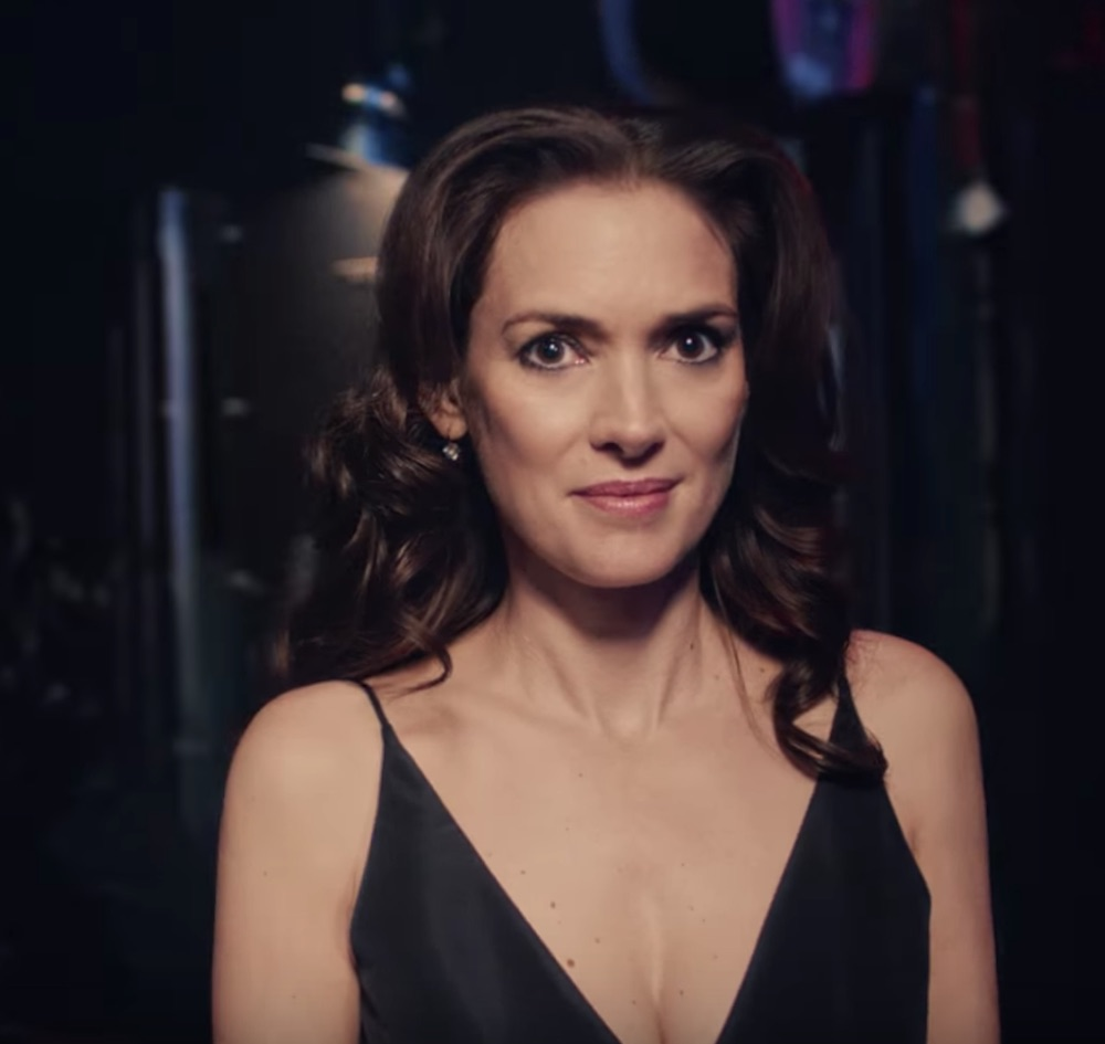 "Winona Ryder debuts as the newest face of L'Oréal Paris with stunning ""Comeback"" commercial"