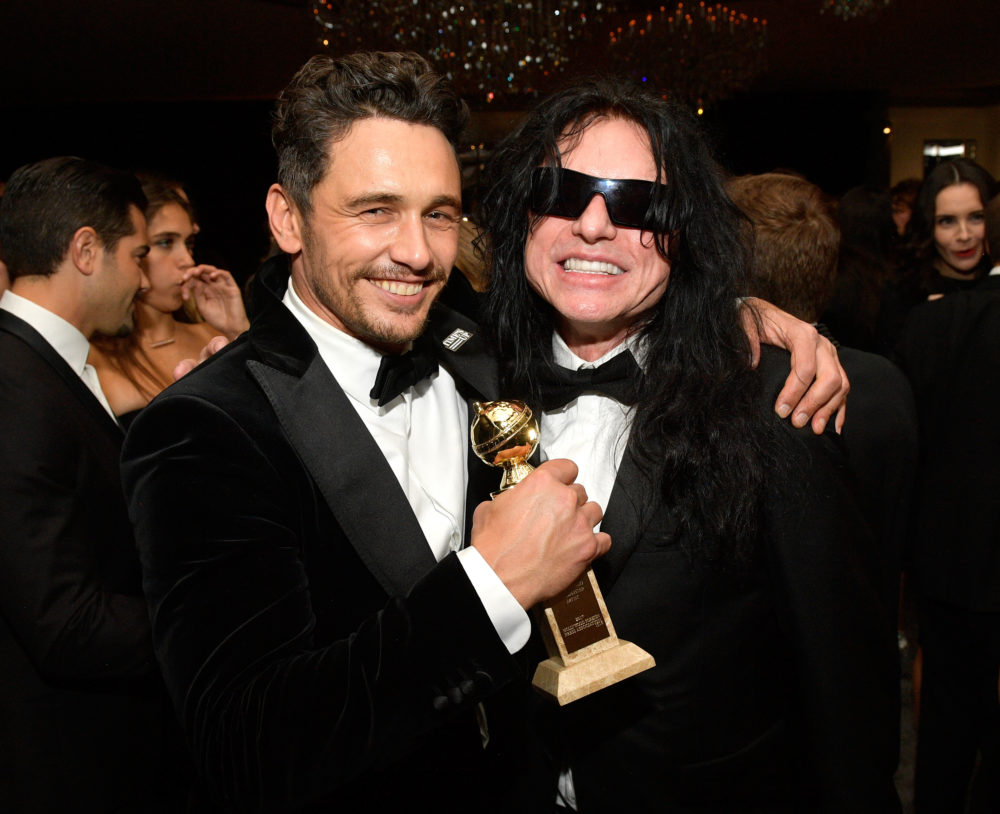 Here's Tommy Wiseau's Golden Globes speech — even though he didn't actually *win* anything