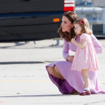 Princess Charlotte is a mini Kate Middleton on her first day of nursery school