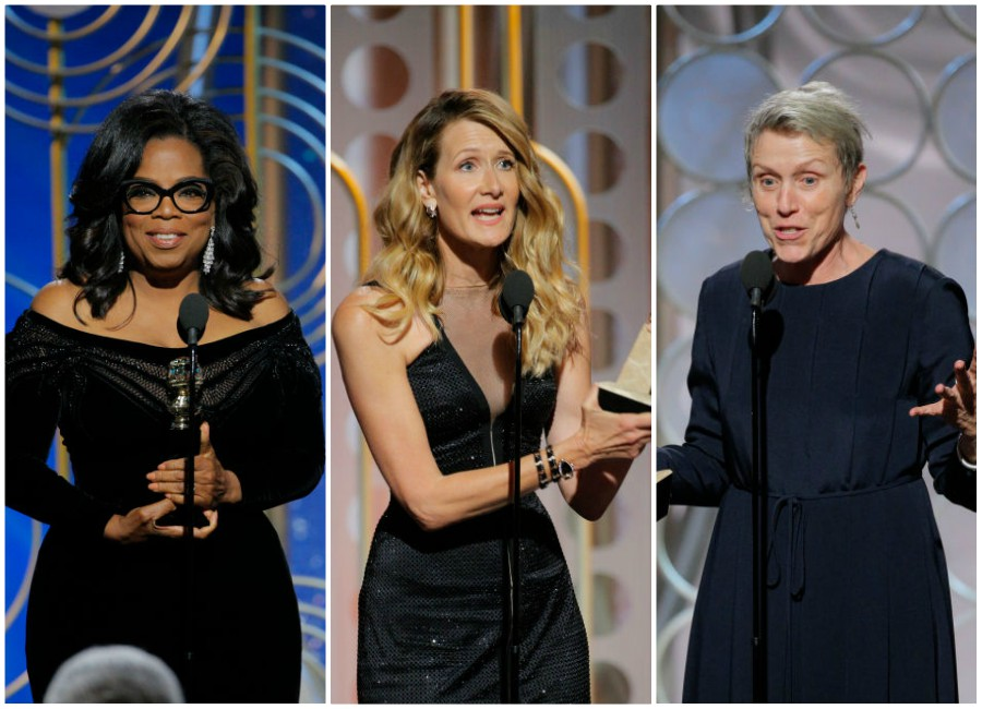 6 bookmark-worthy speeches women made at the 2018 Golden Globes