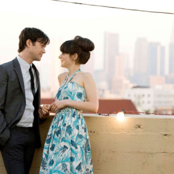 "January 8th is Tom and Summer Day, so we're watching ""(500) Days of Summer"" to celebrate"