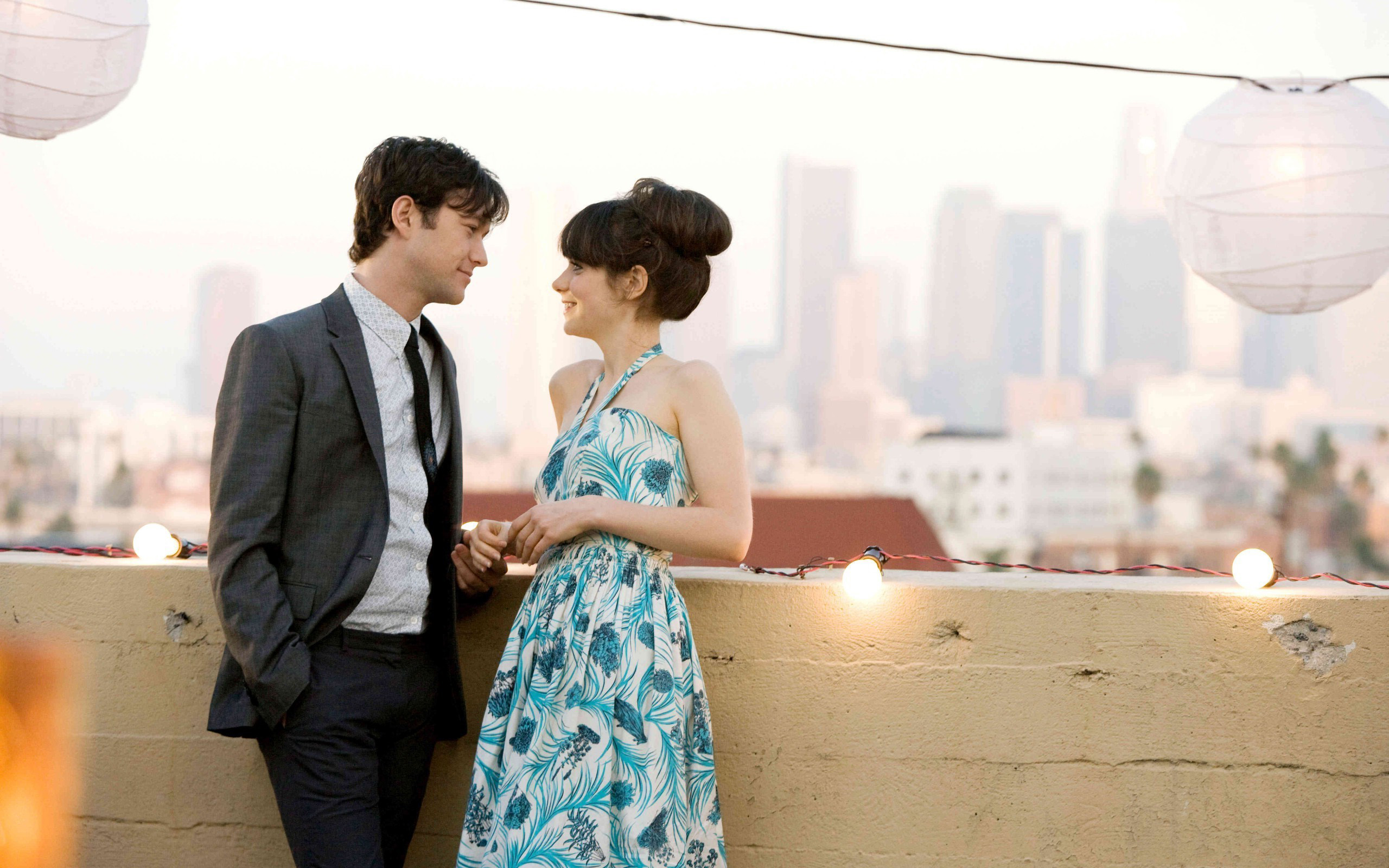 "It's Tom and Summer Day, so watch ""(500) Days of Summer ... джозеф гордон левитт"