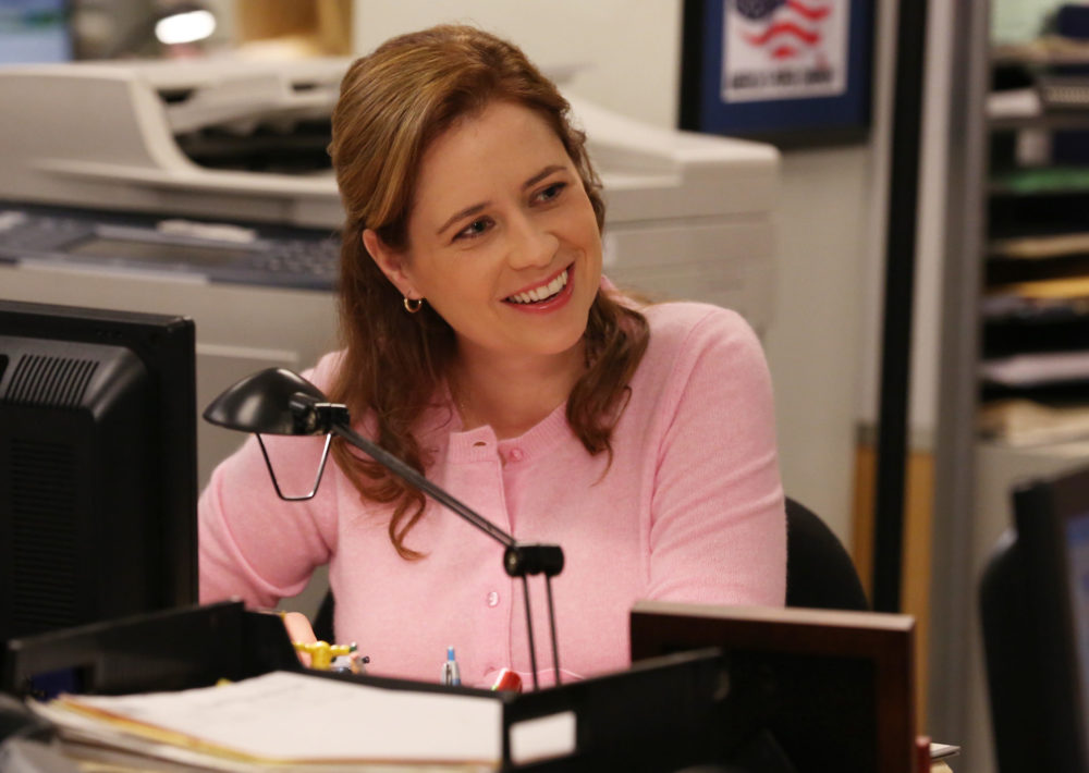 "NBC, please call Jenna Fischer, because she'd really like to be in the ""Office"" revival"